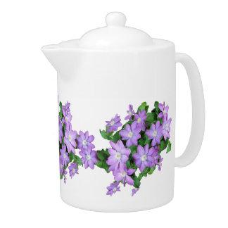 Flowers Floral Garden Photography Teapot