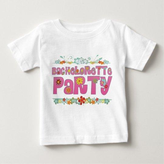 flowers floral hippie bachelorette party bridal baby T-Shirt