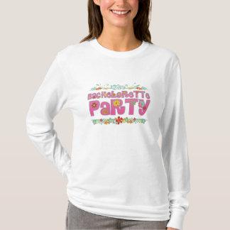 flowers floral hippie bachelorette party bridal T-Shirt