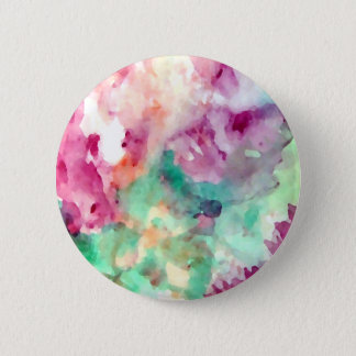 Flowers Floral Watercolor Pretty Mom Gifts Button