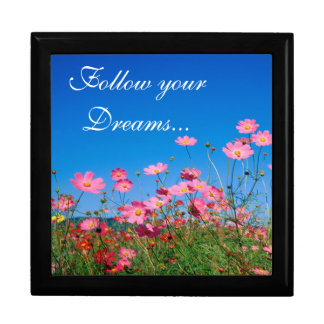 Flowers/Follow your dreams/Keep Sake/Gift Box