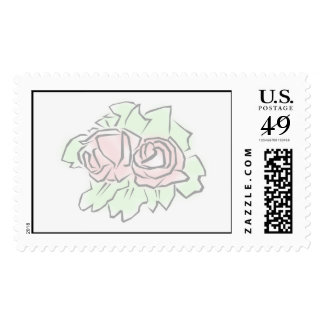 Flowers for anything stamp