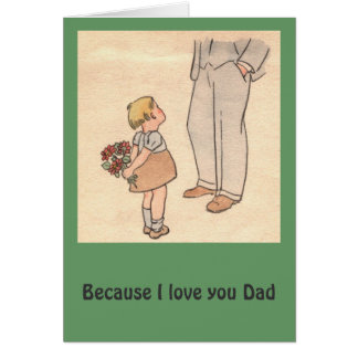 Flowers for Dad Card