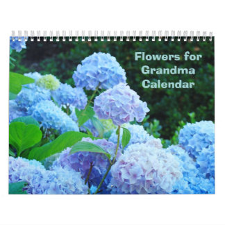Flowers for Grandma Calendar Flower Photography
