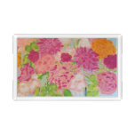 Flowers for Mary Ann Acrylic Tray