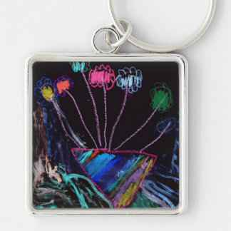 Flowers For Mom Keychains