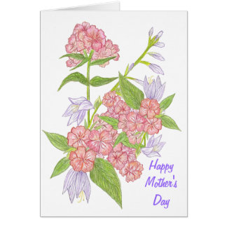 Flowers for Mom Mother's Day Card
