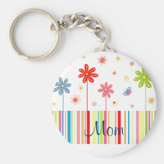 Flowers for Mother's Day Keychain