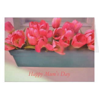 Flowers For Mum Card