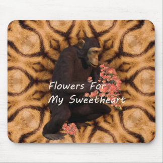 Flowers For My Sweetheart. Mouse Pad