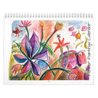 Flowers for the Year Calendar