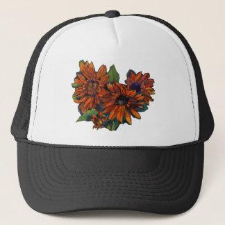 Flowers for Vincent on light Trucker Hat