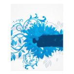 Flowers_frame-blue Letterhead