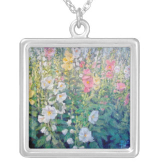 Flowers from a Catalog Necklace