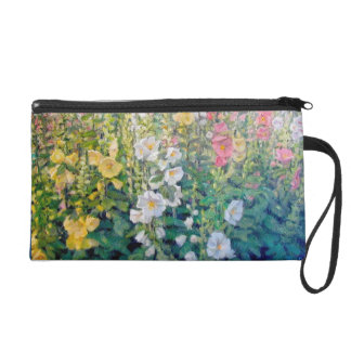 Flowers From a Catalog Wristlet Clutches