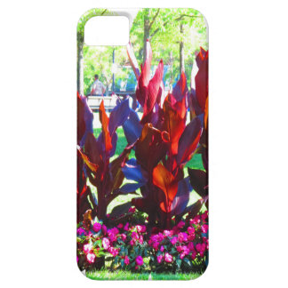 Flowers from Boston City Colorful Parks n Gardens iPhone SE/5/5s Case