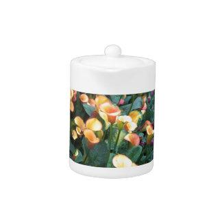 Flowers from Butterfly Garden Las Vegas USA Teapot