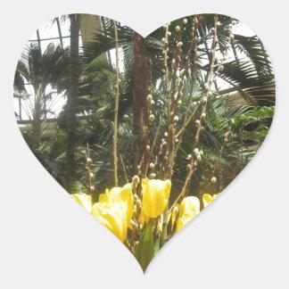 Flowers from Butterfly Garden LasVegas USA America Heart Sticker