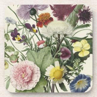 Flowers From Grandma's Garden Beverage Coaster