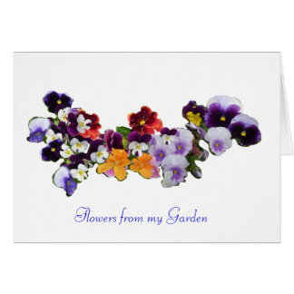 'Flowers from my Garden' Cards