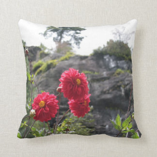 Flowers from Nepal. Throw Pillow