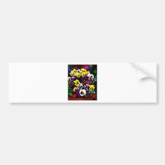 Flowers Galore Bumper Sticker