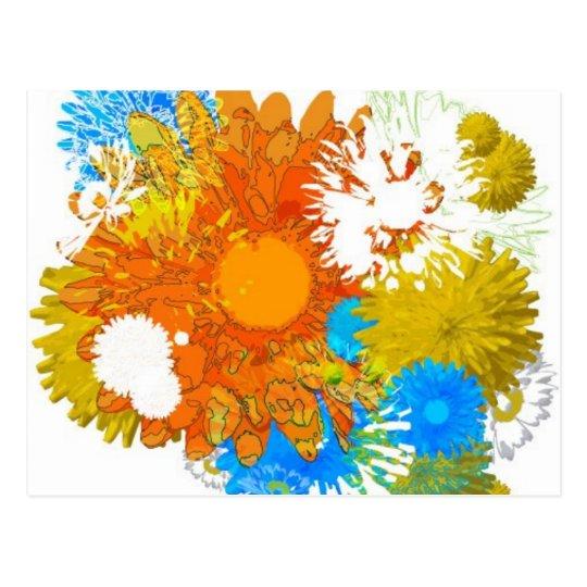 Flowers Galore Postcard