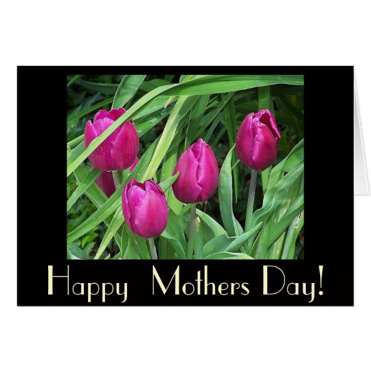 Flowers Garden Floral Photography Mothers Day Card