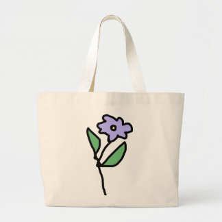 flowers . garden large tote bag