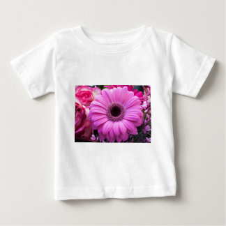 Flowers Gerbera  Roses Personalize Blossoms Baby T-Shirt