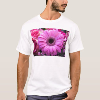 Flowers Gerbera  Roses Personalize Blossoms T-Shirt