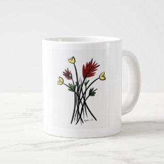 Flowers Giant Coffee Mug