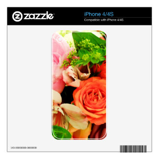 Flowers given in love_ iPhone 4 skins