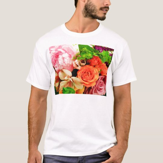 Flowers given in love_ T-Shirt