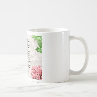 Flowers Goddaughter Poem Mug