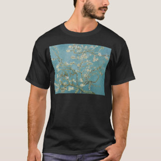 Flowers Gogh Branches Almond Blossoms Nature T-Shirt