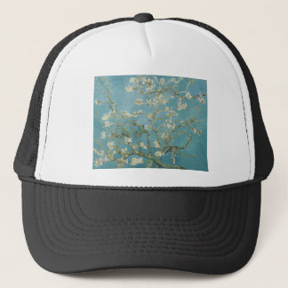 Flowers Gogh Branches Almond Blossoms Nature Trucker Hat