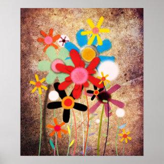 Flowers Handmade Poster
