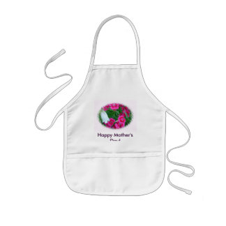 Flowers, Happy Mother's Day! Kids' Apron