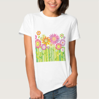 Flowers Happy T Shirt