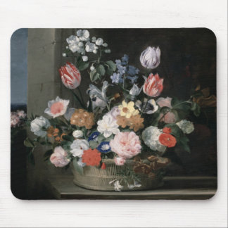 Flowers in a Basket, 1650-56 Mouse Pad