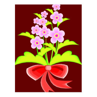 Flowers in a Bunch Postcard