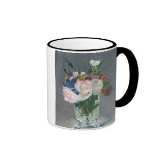 Flowers in a Crystal Vase, c.1882 (oil on canvas) Ringer Coffee Mug