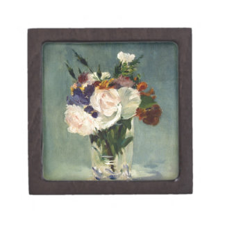 Flowers_in_a_Crystal_Vase,_Edouard_Manet,_c1882 Jewelry Box