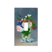 Flowers in a Crystal Vase Lightswitch Cover
