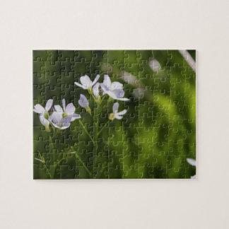 Flowers in a Field Jigsaw Puzzle