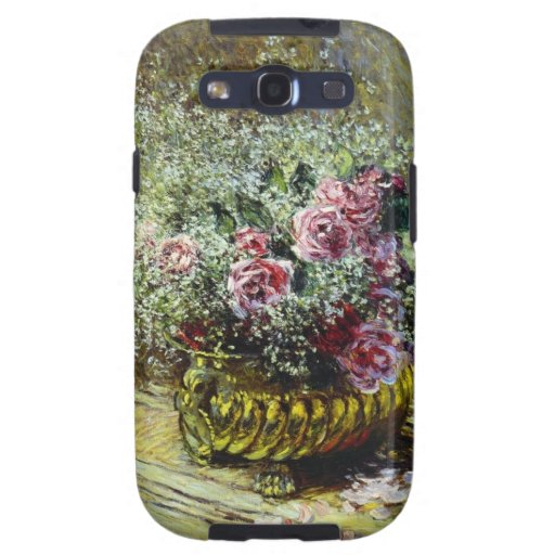 Flowers in a Pot - Claude Monet Galaxy S3 Cover