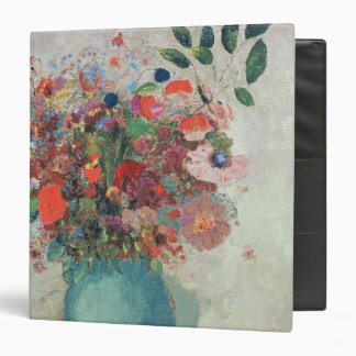 Flowers in a Turquoise Vase, c.1912 3 Ring Binder