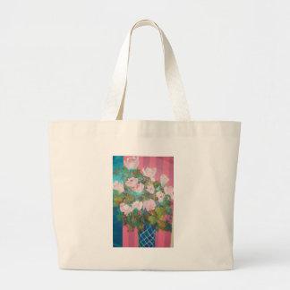 flowers in a vase bags