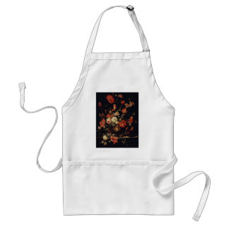 Flowers In A Vase By Mignon Abraham Aprons